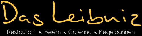 Schriftzug Restaurant Das Leibniz